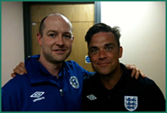 mark roe and robbie williams